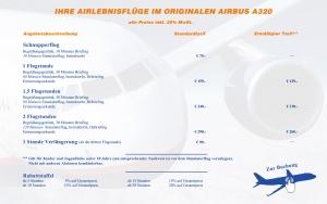 Preisliste Airbus A320
