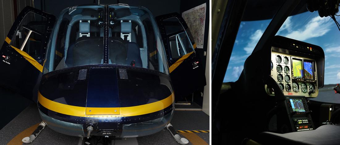 Hubschrauber Simulator Bell 206 Jet Ranger 9