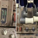 Boeing 767 - Throttle and Parking Brake