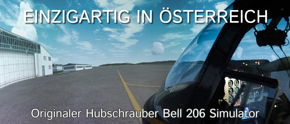 Hubschraubersimulator Bell 206 Jet Ranger 1