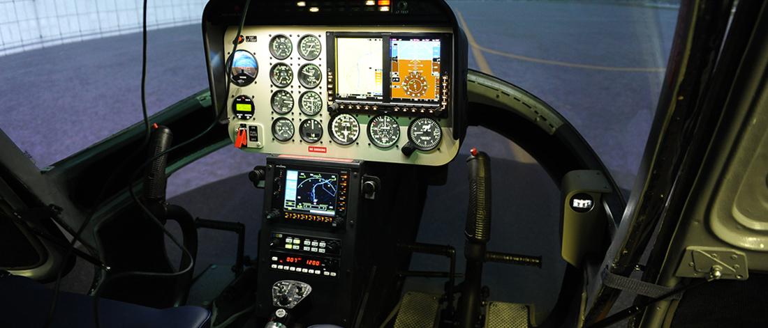 Hubschraubersimulator Bell 206 Jet Ranger 2